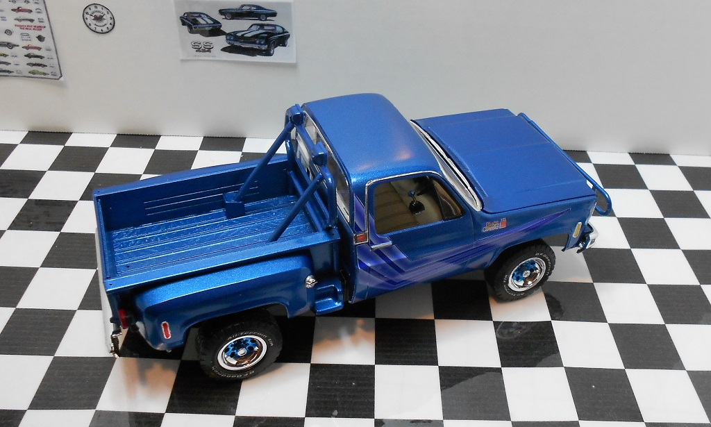 CHiPs 1978 GMC Stepside COMPLETE! - Scale Auto Magazine ...