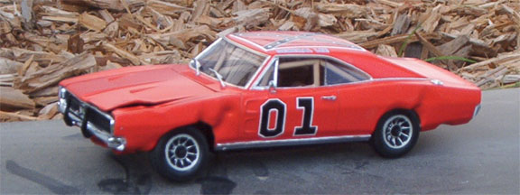 General Lee Wrecked